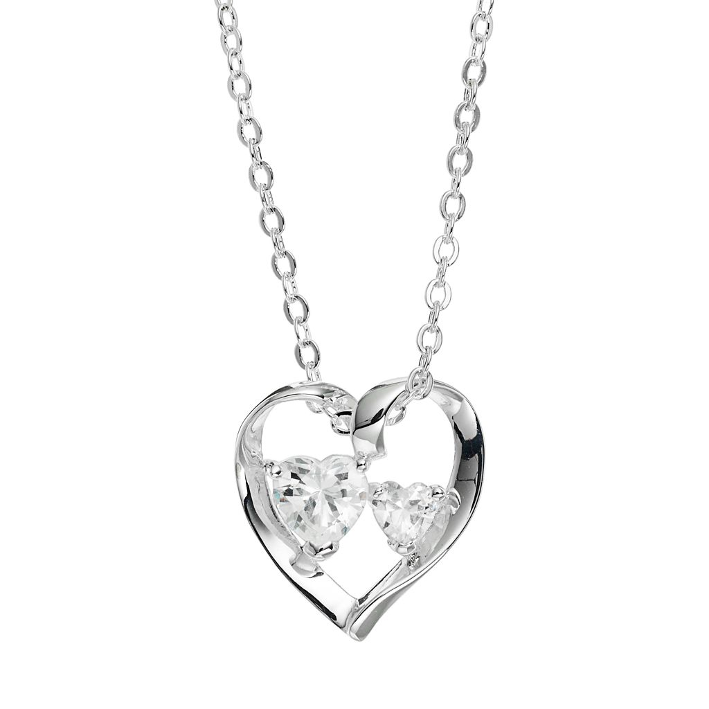 Silver Expressions by LArocks Cubic Zirconia Silver-Plated