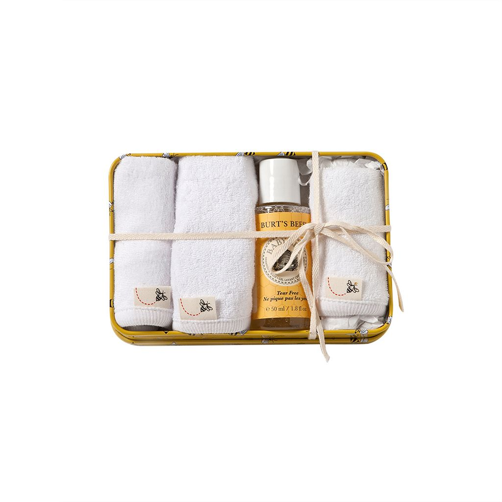 Burt's Bees Baby 4-pc. Organic Washtime Set
