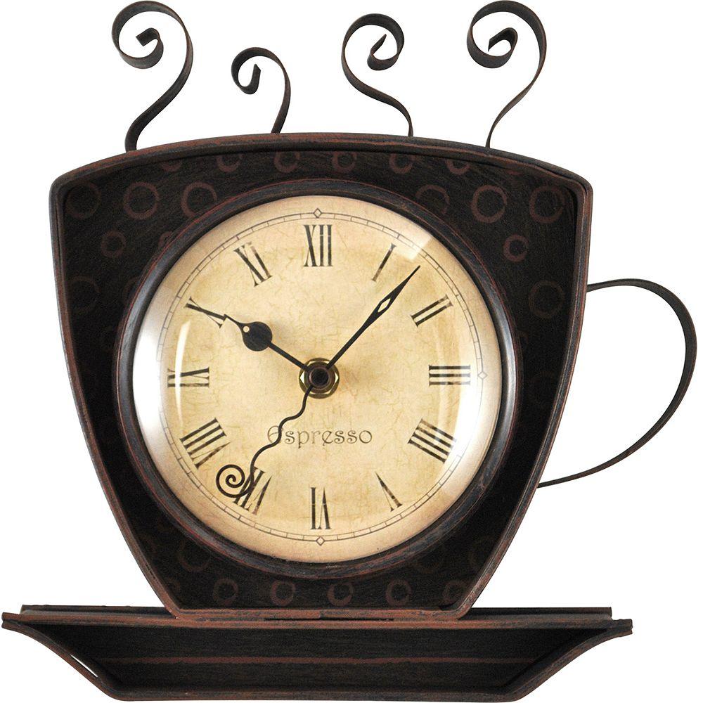 FirsTime Coffee Cup Wall Clock. Coffee Cup Wall Clock