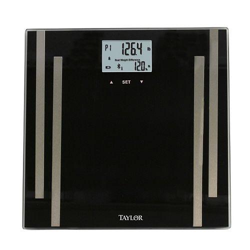 Taylor Wireless Bluetooth Digital Bathroom Scale