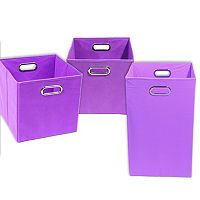 Modern Littles 3-pc. Storage Bin Set