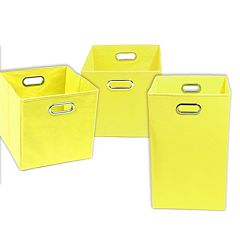 Modern Littles 3 pc Storage Bin Set