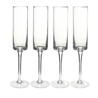 Cathy's Concepts 4-pc. Contemporary Champagne Flute Set