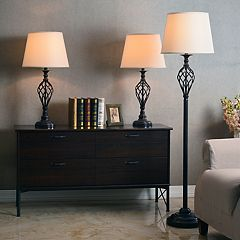 Avett 3 pc Table Lamp Set