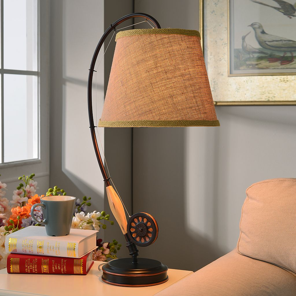 Fly Rod Table Lamp