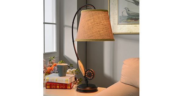 Lamps Plus Store: Fly Rod Table Lamp