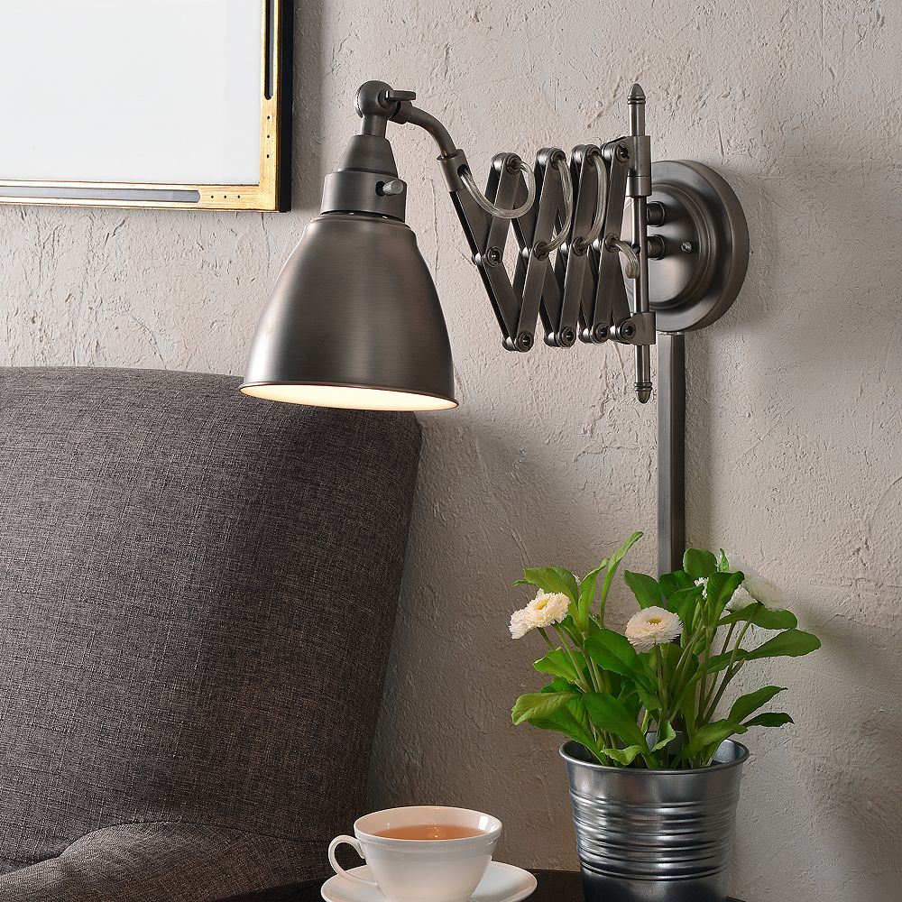 Floren Swing-Arm Wall Lamp