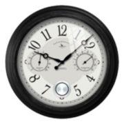 FirsTime Adair Outdoor Wall Clock