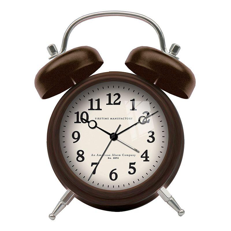 FirsTime Sable Alarm Clock