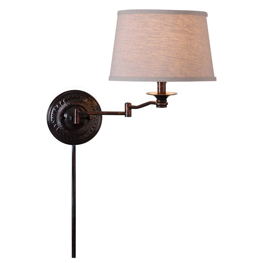 Riverside Swing-Arm Wall Lamp
