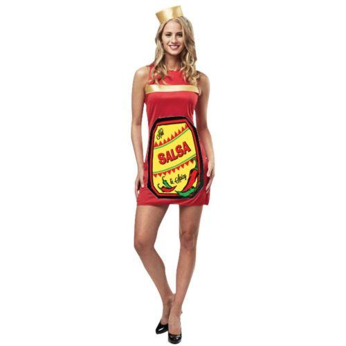 Salsa Dress Costume - Adult