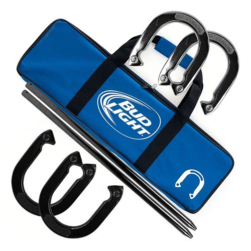 Bud Light Horseshoe Set
