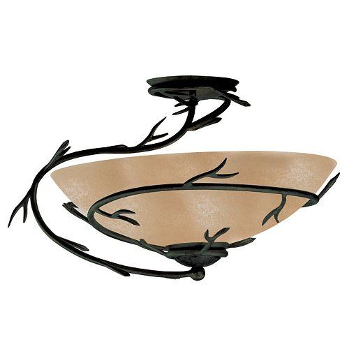 Twigs Semi-Flush Ceiling Light