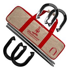 Budweiser Horseshoe Set