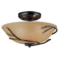 Twigs 2-Light Flush Mount Ceiling Light