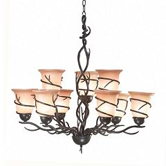 Twigs 9-Light Chandelier