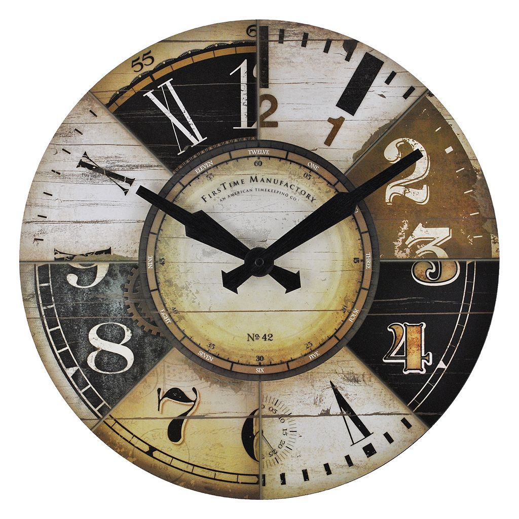 FirsTime Collector Wall Clock