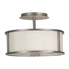 Whistler 2-Light Semi-Flush Ceiling Light