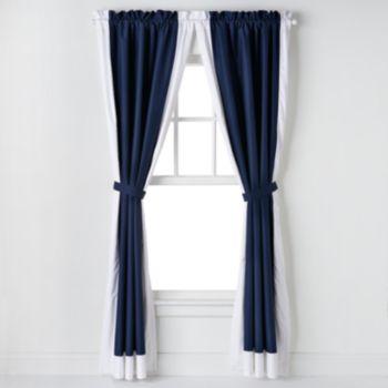IZOD Varsity Stripe Window Curtains - 42'' x 84''