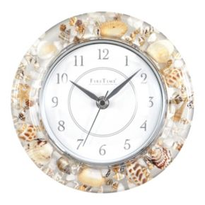 FirsTime Seashell Wall Clock