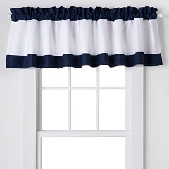 IZOD Varsity Stripe Window Valance - 84'' x 18''