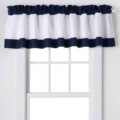 IZOD Varsity Stripe Window Valance - 84'' x 18''