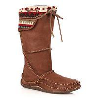 Durango Santa Fe Women's Tall Fold-Over Moccasin Boots