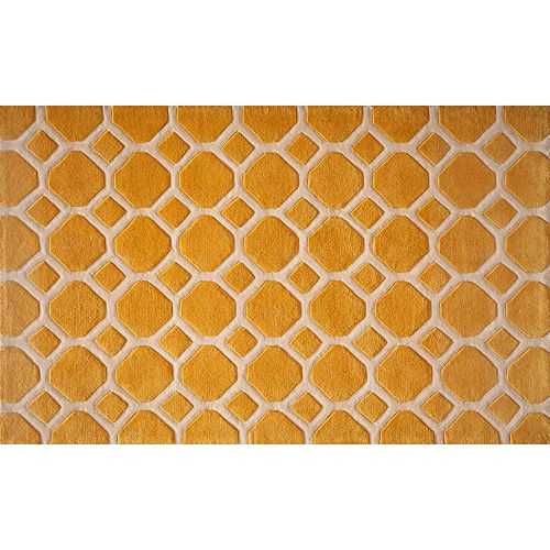 Momeni Bliss Honeycomb Rug - 3'6'' x 5'6''
