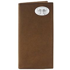 Zep-Pro Tennessee Volunteers Concho Crazy Horse Leather Secretary Wallet