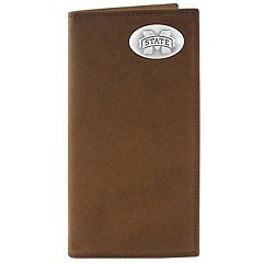 Zep-Pro Mississippi State Bulldogs Concho Crazy Horse Leather Secretary Wallet