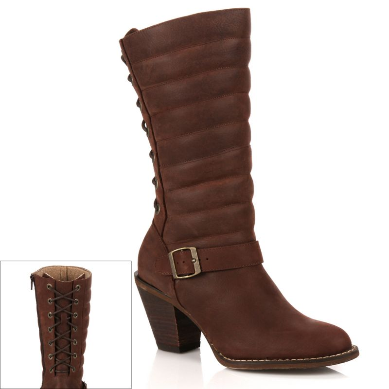 leather boots kohl s