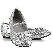 Kids Sparkle Ballerina Costume Shoes