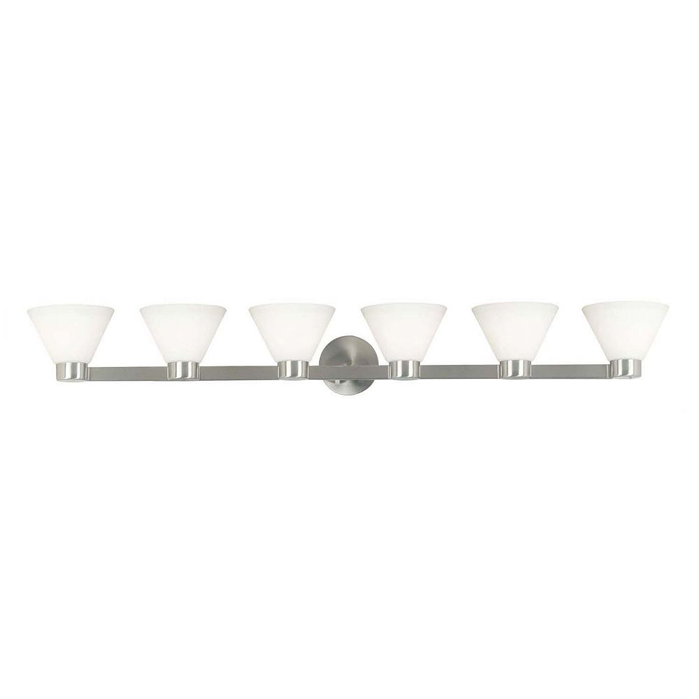 Kenroy Home Maxwell 6-Light Vanity Wall Sconce