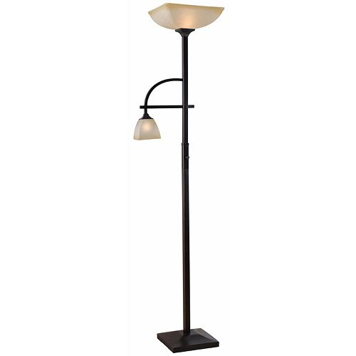 Arch Torchiere Floor & Reading Lamp
