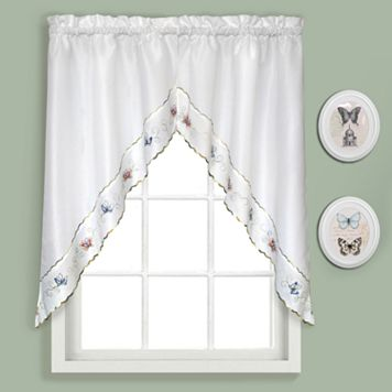 United Curtain Co. Butterfly Swag Curtains - 52'' x 36''