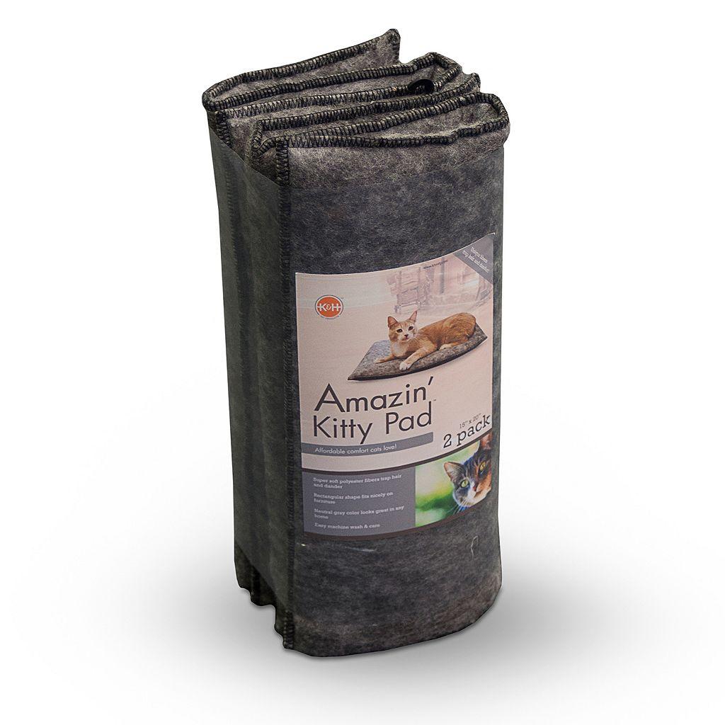 K&H 2-pk. Amazin' Kitty Pads - 20'' x 15''