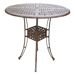 Elite Cast Aluminum Outdoor Bar Table