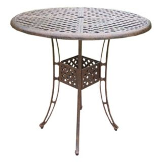 Elite Cast Aluminum Outdoor Bar Table