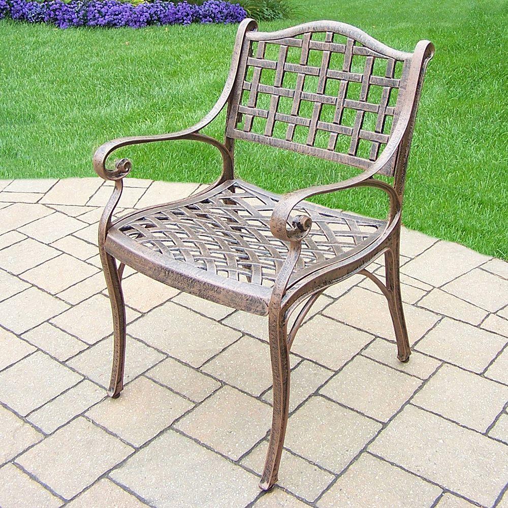 Elite Cast Aluminum Outdoor Arm Chair