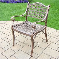 Elite Cast Aluminum Outdoor Arm Chair