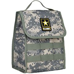 Wildkin U.S. Army Stash Lunch Bag - Kids