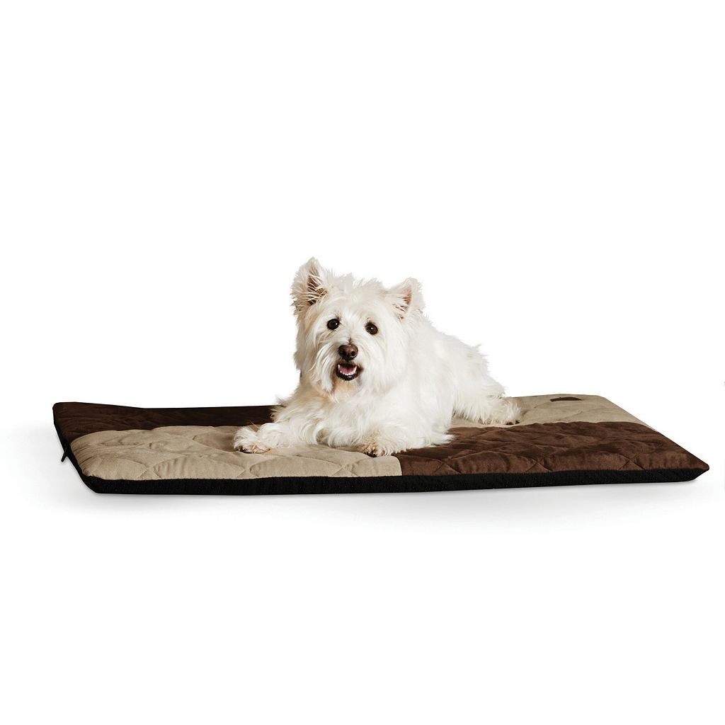 KandH Quilted Memory Dream 2-in. Thick Pet Bed - 27'' x 37''