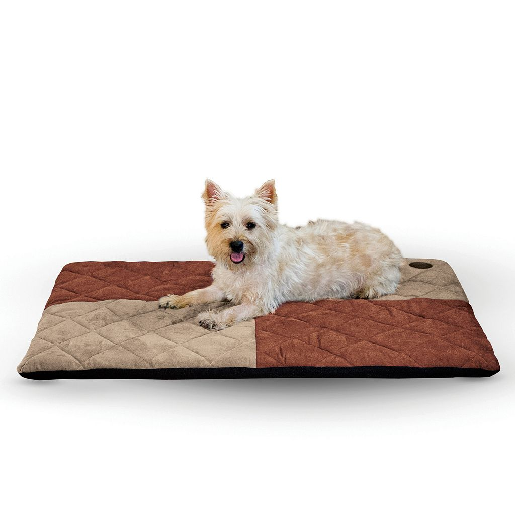 K&H Quilted Memory Dream 2-in. Thick Pet Bed - 27'' x 37''