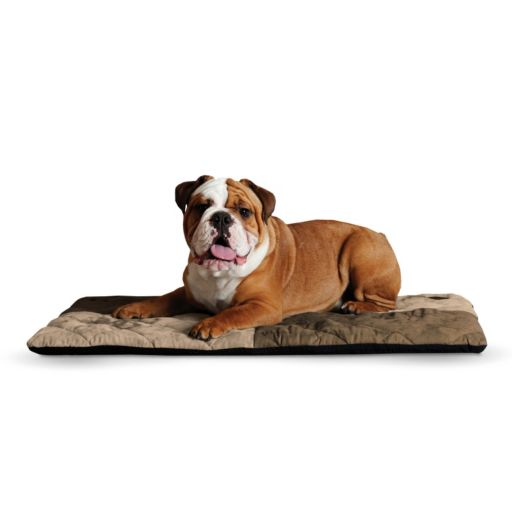 KandH Quilted Memory Dream 2-in. Thick Pet Bed - 37'' x 52''