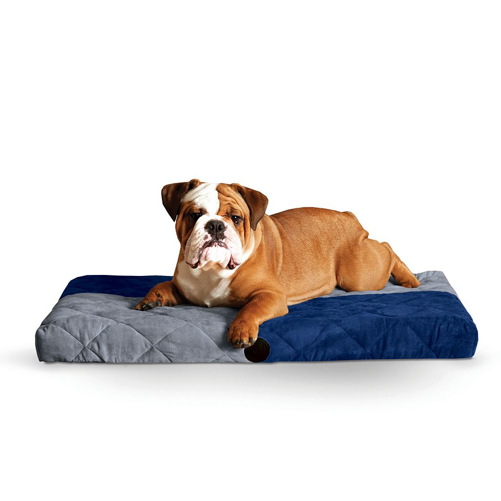 K&H Quilted Memory Dream 3 1/2-in. Thick Pet Bed - 27'' x 37''