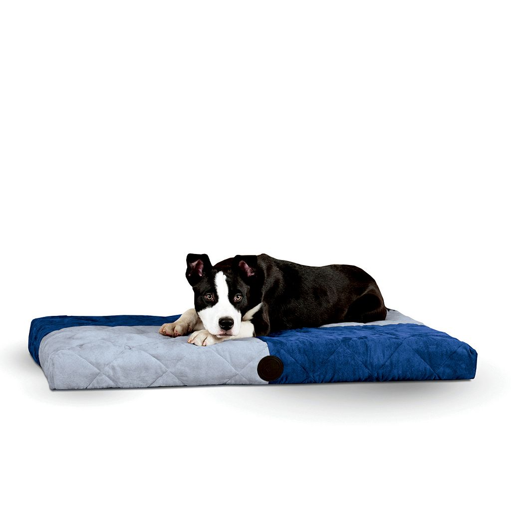 K&H Quilted Memory Dream 3 1/2-in. Thick Pet Bed - 37'' x 52''