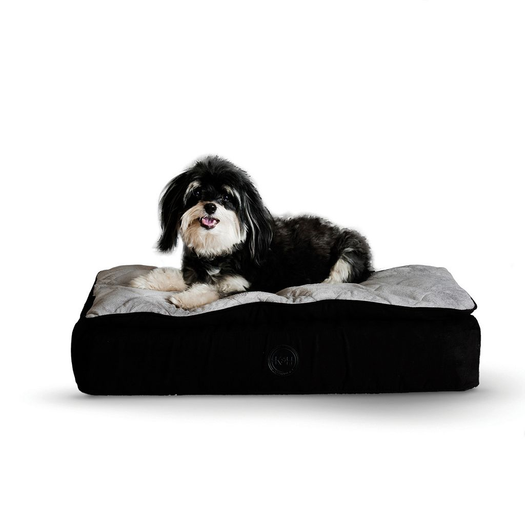 K&H Feather-Top Orthopedic Pet Bed - 20'' x 30''