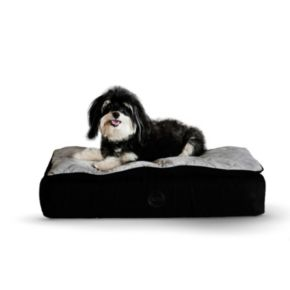 KandH Feather-Top Orthopedic Pet Bed - 20'' x 30''