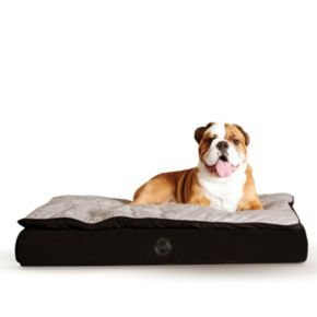 KandH Feather-Top Orthopedic Pet Bed - 40'' x 50''