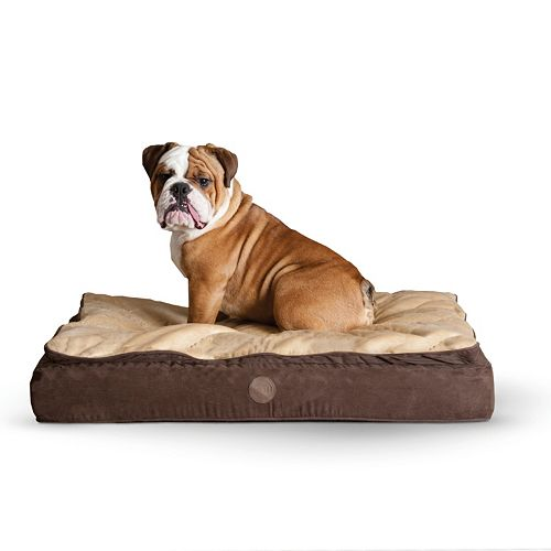 K&H Feather-Top Orthopedic Pet Bed - 40'' x 50''